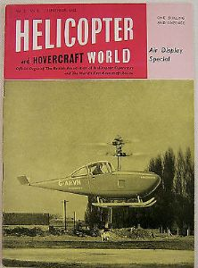Helicopter & Hovercraft World - Air Display Special - Sept 1962